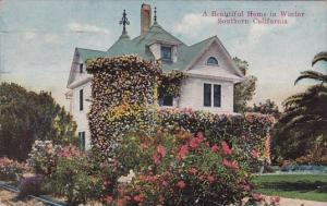 A Beautiful Home In Winter Southern California 1920