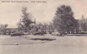 Massachusetts South Hadley Abbey Hall Mount Holyoke College