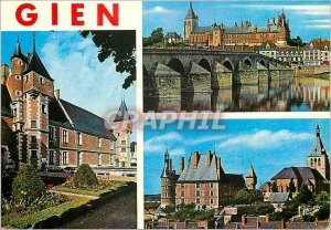 Modern Postcard The Gatinais Montargis Leclerc General of the street and the ...