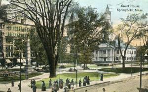 MA - Springfield. Courthouse