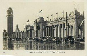 Postcard exhibitions Exposicion internacional Barcelona 1929 Communication palac