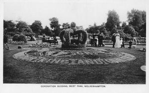 Coronation Bedding, West Park Wolverhampton