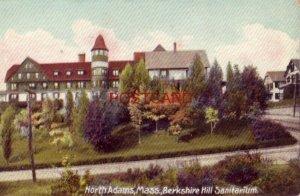 NORTH ADAMS, MASS. BERKSHIRE HILL SANITARIUM dated Aug 20, 1907
