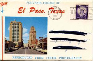 Folder -  Texas, El Paso (11 views + covers + narrative)