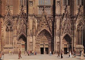 Koeln am Rhein Dom Westportal Cathedral Entrance
