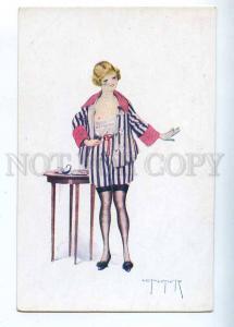 202393 ART NOUVEAU Parisian home NUDE BELLE by PELTIER vintage