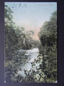 Australia Victoria RIVER YARRA AT DOON c1904 Postcard by V.S.M. Series