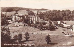 RP, Wharfedale- Bolton Abbey From The South-East, Yorkshire, England, UK, Pu-...