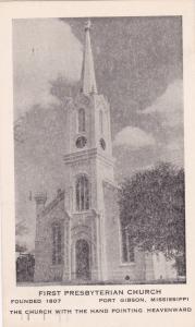PORT GIBSON, Mississippi, 1955 ; First Presbyterian Church