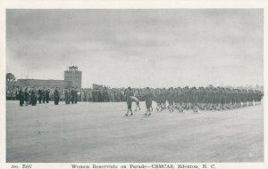 EDENTON , North Carolina, 1930s ; USMCAS , Woman Reservists on parade