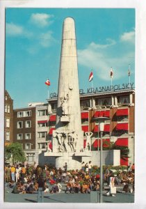 AMSTERDAM, The National Monument, heart of the City, Postcard