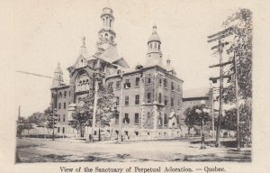 View of the Sanctuary of Perpetual Adoration - Quebec , Canada , 1910-30s