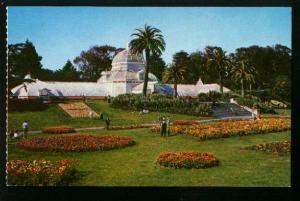Conservatory At Golden Gate Park San Francisco - 1960s - Unused