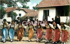 Postcard Modern Folk dance