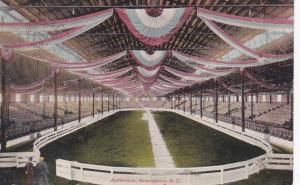 North Carolina Greensboro Auditorium Interior 1910