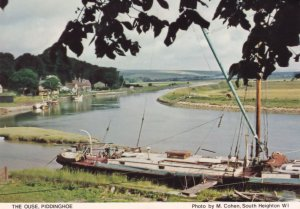 The Ouse Piddinghoe Sussex Boats Yacht Postcard