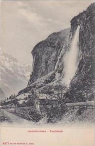 Switzerland Lauterbrunnen Der Staubach