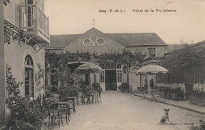 HOTEL DE LA PROVIDENCE - JOUY (E.&-L.) , Patio , France, 1900-10s