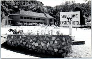 Cameron Highlands, MALAYSIA Real Photo RPPC Postcard EASTERN HOTEL Dated 1961