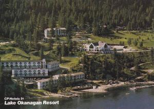 Aerial view,  CP Hotels,  Lake Okanagan Resort,  Kelowna,  B.C.,  Canada,   5...