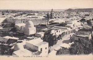 Tunisia Tunis Vue Prise de la Kasbah