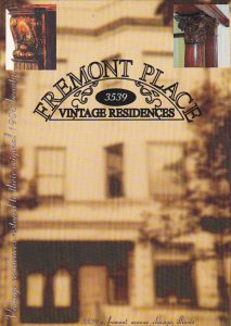 Advertising Fremont Place Vintage Residences Chicago Illinois
