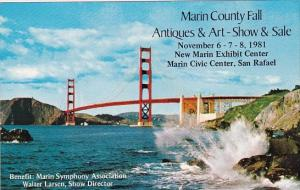 California San Franciscos Marin County Fall Antiques & Art Show & Sale