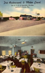 Georgia Marietta Trio Restaurant and Motor Court