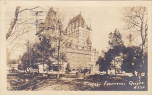 RP, Chateau Frontenac, Quebec, Canada, PU-1945