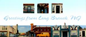 NJ - Long Branch. Broadway Long Branch: 1939 Mural (4 X 9).