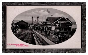 Washington Bremerton ,  S.S.Kennedy  at Wharf