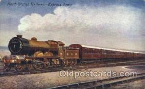 North British Railway, Edinburgh Express Train Trains Locomotive, Steam Engin...