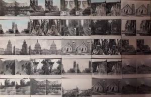 Lot 25 postcards stereographic images North America scenic stereo views pre 1920