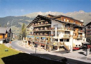 Switzerland Verbier Valais, Hotel Rhodania Terrace Pension Auto Cars
