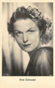 RPPC Erna Grünwald German Actress? Garloff Magdeburg ca 1930s Vintage Postcard