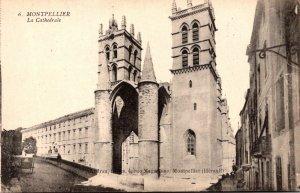 France Montpelier La Cathedrale