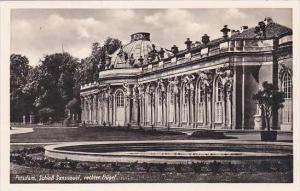 Germany Potsdam Schloss Sanssouci Rechter Fluegel Real Photo