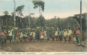 Ghana Gold Coast specie from Dunkwa to Bibianiha by Jacob Vitta Tarkwa