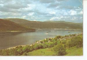 Postal 041530 : Panoramic view of Fort William