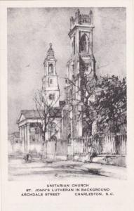 Charleston , South Carolina, 30-40s; Elizabeth O´Neill Verner; Unitarian Church