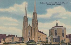 FORT WAYNE , Indiana , 30-40s ; Cathedral Square