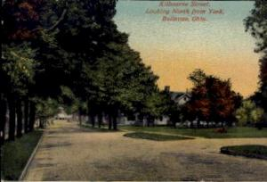 Kilbourne Street, Looking North from York Bellevue OH Postal Used Unknown