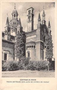 Italy Certosa di Pavia Veduta dell'Abside dalla parte del cimitero del monaci