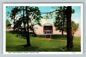 Jamestown Island VA-Virginia, Rev. Robert Hunt Memorial Shrine, Vintage Postcard