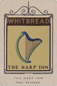 Whitbread Brewers Vintage Metal Trade Card Inn Signs 1st Series 1949 No 40 Th...