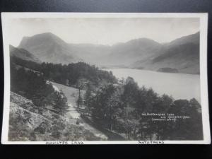 Cumbria: BUTTERMERE LAKE AND HONISTER CRAG - RP Old Postcard - Pub by Abraham