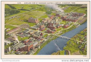 Airplane View Of Tennessee Eastman Company Kingsport Tennessee