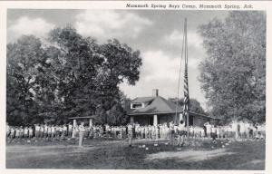MAMMOTH SPRINGS , Arkansas, 1930-40s ; Boys Camp