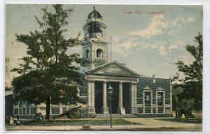 Town Hall Ladysmith KwaZulu Natal South Africa 1908 postcard