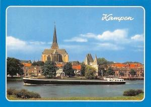 Netherlands Kampen Schiff Boat River Bateau Panorama
